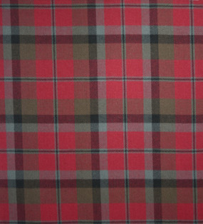 MacNaughton Weathered Medium Weight Tartan