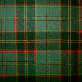 All Ireland Green Irish Light Weight Tartan