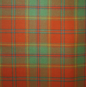 All Ireland Red Irish Light Weight Tartan