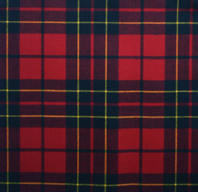 Brodie Red Modern Light Weight Tartan