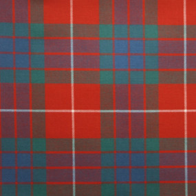 Fraser Red Ancient Light Weight Tartan