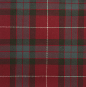 Fraser Red Weathered Light Weight Tartan