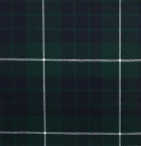 Hamilton Green Modern Light Weight Tartan
