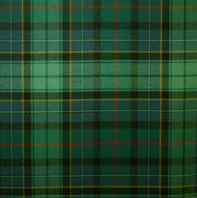 Leinster Green Irish Light Weight Tartan