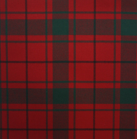 MacDonald of the Isles Red Modern Light Weight Tartan