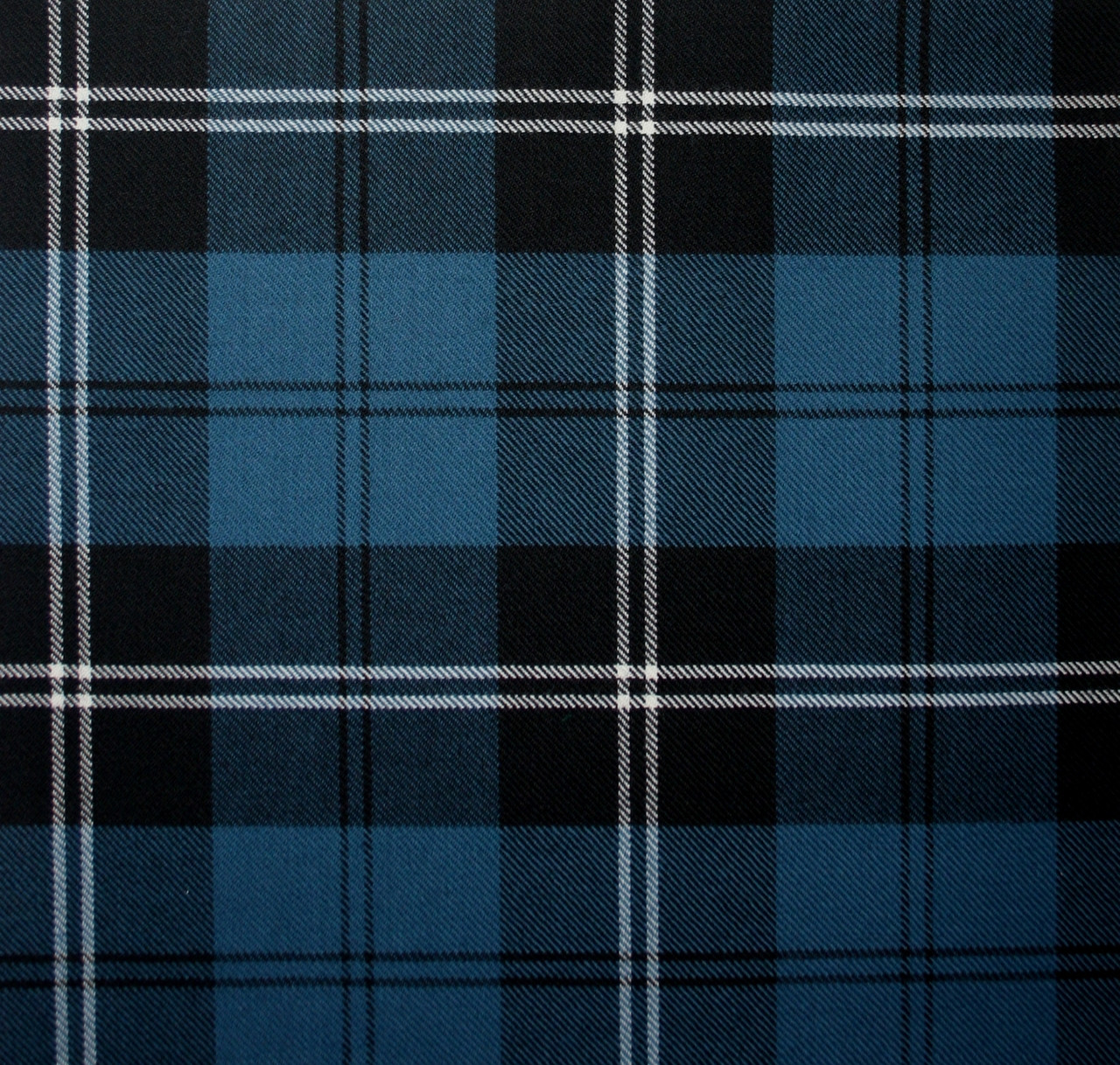 Ramsay Blue Ancient Light Weight Tartan Fabric ...