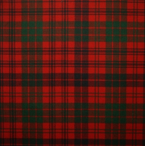 Ross Red Modern Light Weight Tartan