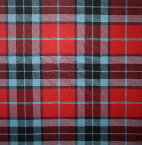 Thompson Red Modern Light Weight Tartan