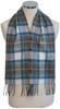 Stewart Blue Dress Waistcoat Scarf