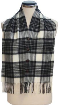 Stewart Grey Waistcoat Scarf