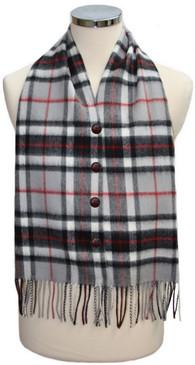 Thompson Grey Waistcoat Scarf