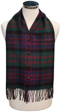 MacDonald Clan Modern Waistcoat Scarf