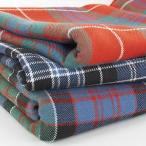Tartan Throw Heavy Weight