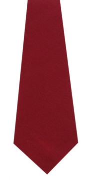 Weathered Red Wool Tie