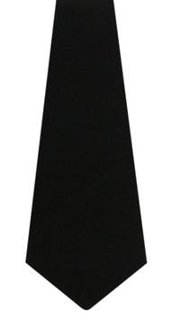 Black Wool Tie
