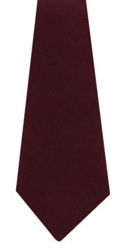 Maroon Wool Tie