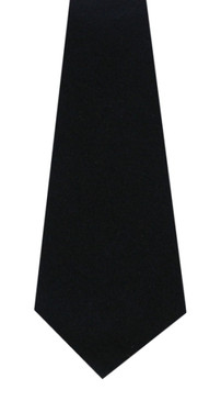Navy Wool Tie