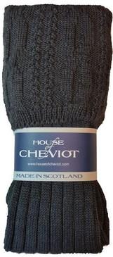 Glenmore  Charcoal Kilt Hose