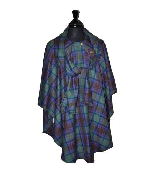 23c6ae4d9 Ladies Hooded Tartan Cape | Lochcarron of Scotland