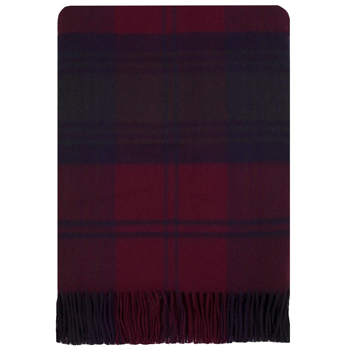 Herren-accessoires Lindsay Modern Tartan Clan Scarf 100% Soft Lambswool