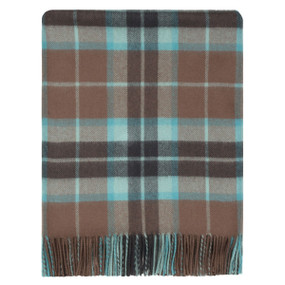 Thomson Hunting Brown Wthrd Lambswool Stole