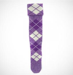 Highland Dance Hose Purple