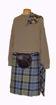 Top Stitch Kilt