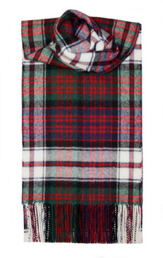 MacDonald Dress Modern Lambswool Scarf