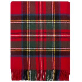 Stewart Royal Modern Lambswool Blanket