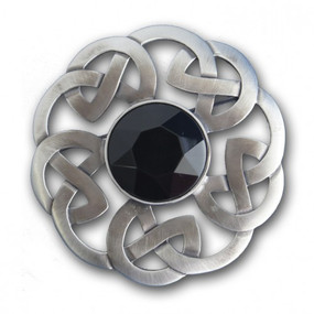 Plaid Brooch Ant Celtic Interlace 248