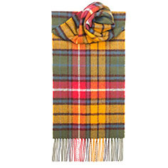 Buchanan Antique Tartan Lambswool Scarf