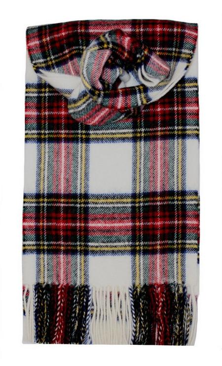 Stewart Dress Modern Tartan Scarf