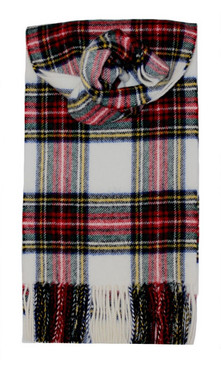 Stewart Dress Modern Tartan Scarf