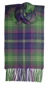 Troon Bright Check Lambswool Scarf