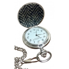 PW1HT Harris Tweed Pocket Watch