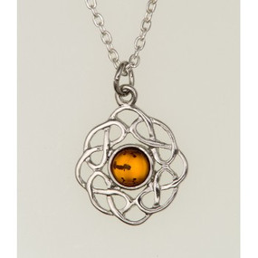 "Pendant November (Topaz) 3/4"" Diameter"