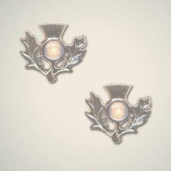 Thistle Earrings October (Opal)
