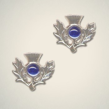 Thistle Earrings September (Sapphire)