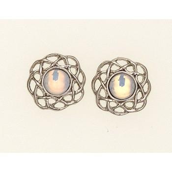 Earrings October (Opal)