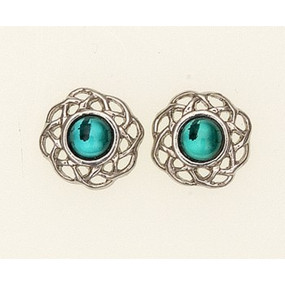 Earrings May (Emerald)