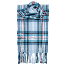DIANA, PRINCESS OF WALES MEMORIAL TARTAN LAMBSWOOL SCARF