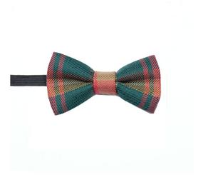 Boys tartan bow tie