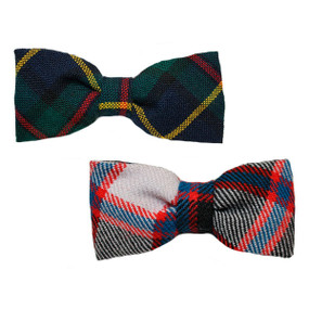 Custom Made To Order Boys Tartan Bow Tie