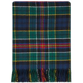 Allison Modern Lambswool Blanket