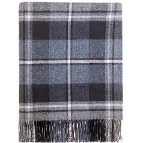 Macrae Hunting Grey Blanket
