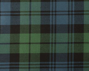 CAMPBELL ANCIENT  POLYVISCOSE TARTAN FABRIC