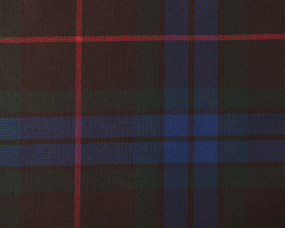 FRASER ANCIENT HUNTING  POLYVISCOSE TARTAN FABRIC