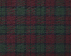 LINDSAY (NEW MINI)  POLYVISCOSE TARTAN FABRIC