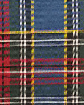 MACBETH ANCIENT  POLYVISCOSE TARTAN FABRIC