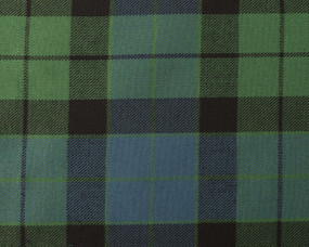 MACKAY ANCIENT  POLYVISCOSE TARTAN FABRIC
